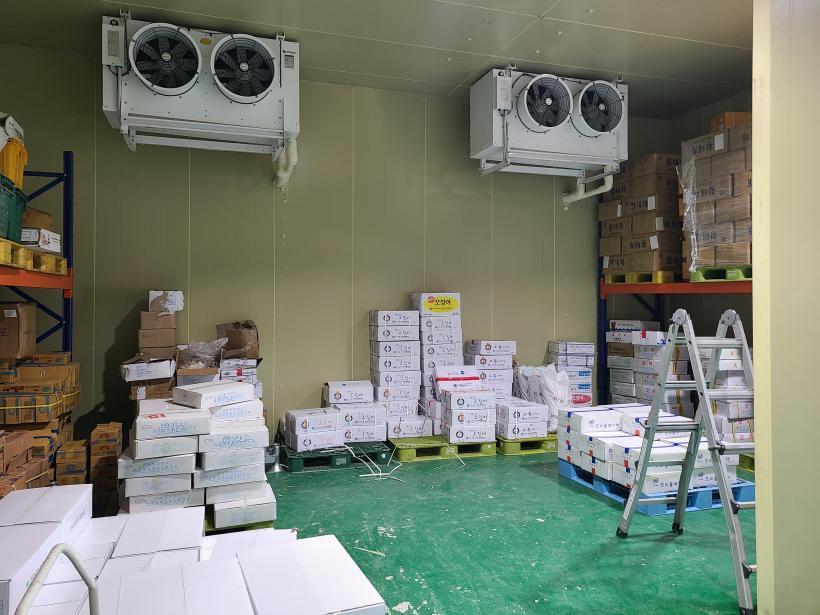 [신설] 50평 4.5m 냉동창고 설치